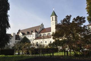 Die Mutterhauskirche als zentrale Einrichtung des Ordenskomplexes in Gengenbach.