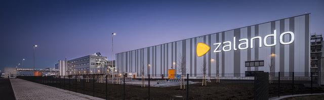 Zalando ging 2016 auf einem Grundstück von rund 185.000 Quadratmetern an den Start.