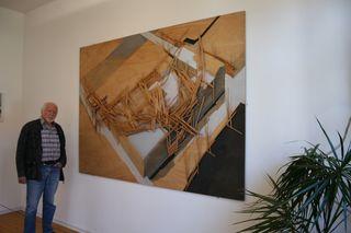 Die Arbeit des japanischen Künstler Tadashi Kawamata ist eines der Lieblingswerke von Walter Bischoff.
