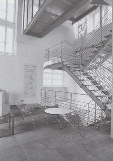Erdgeschoss und Treppenhaus im Jahr 1997 Foto: Stadt