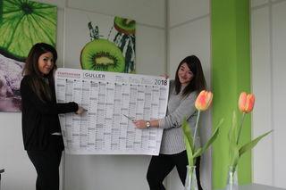 Sie wissen immer, was geht. Feray Kara und Jasmin Günter gehören zum Team, das sowohl für den Veranstaltungskalender in den Printausgaben als auch auf der Homepage stadtanzeiger-ortenau.de verantwortlich ist.