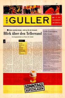 Die erste Guller-Ausgabe von 1997