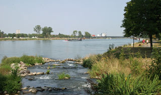 Vor der Landesgartenschau verband nur die Europabrücke Kehl und Straßburg miteinander.