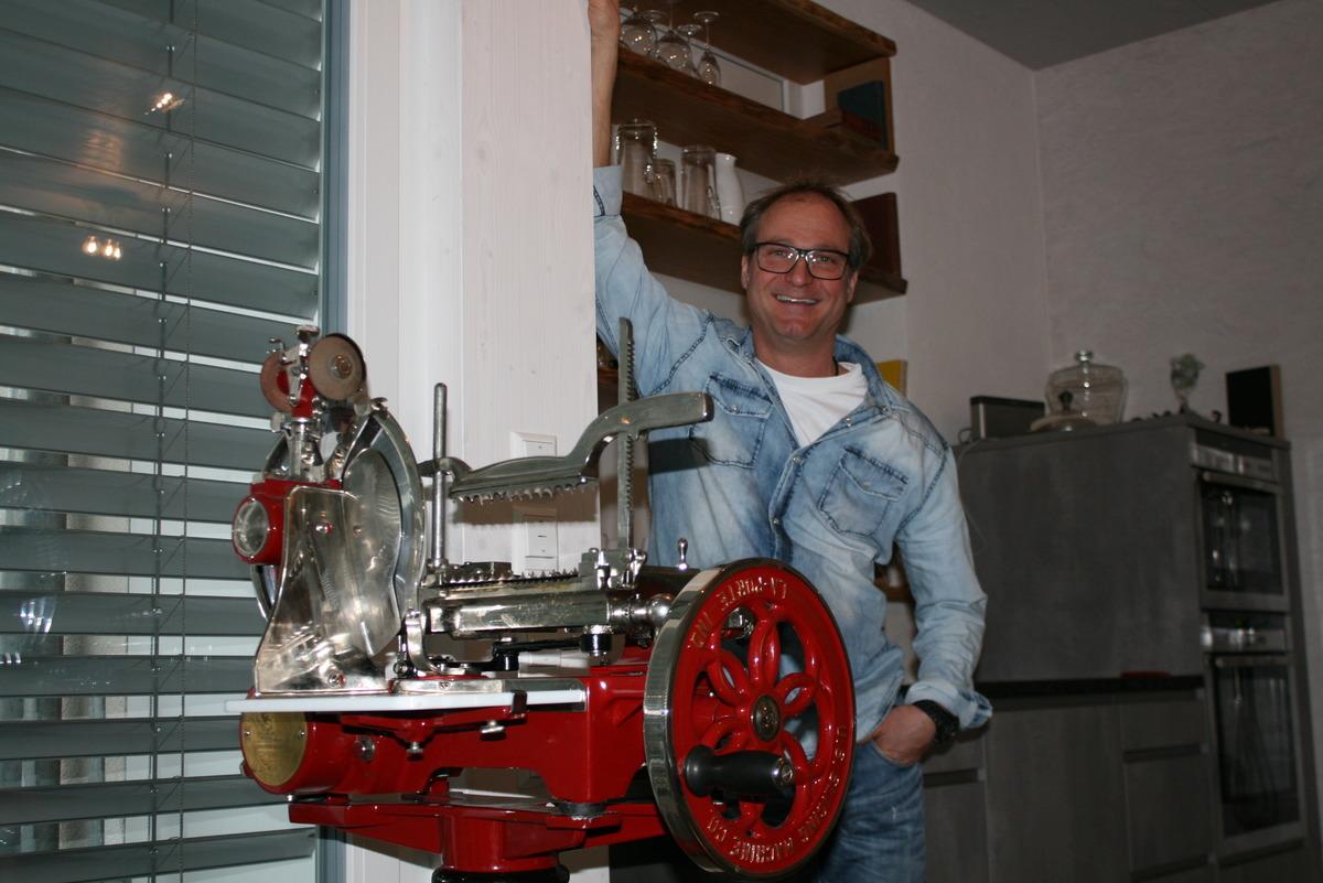Mann der ersten Kochstunde im Guller: Andreas Miessmer lieferte vor 20 Jahren schon die Rezepte.
