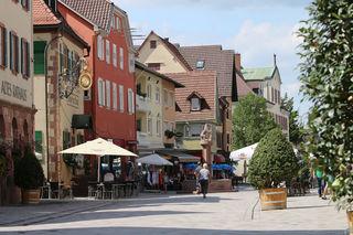 Die neue Fußgängerzone in Oberkirch ist gelungen und wird am 2. Dezember eröffnet.