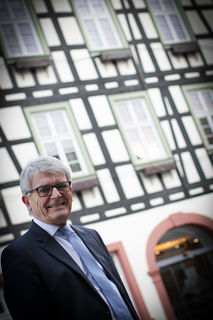 Es wird eine emotionale Woche für Bürgermeister Manfred Wöhrle, der aus dem Amt scheidet.