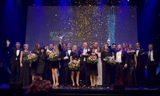 Die Gewinner des Abends sowie Verantwortliche des Marketing-Clubs Ortenau-Offenburg