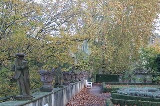 """Platanen oder Stadtmauer im Vinzetiusgarten? Die Entscheidung wurde vertagt, bis """"belastbare Ergebnisse"""" vorliegen."""