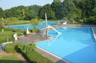 Die verlängerte Freibadsaison in Auenheim endete am ersten Advent.