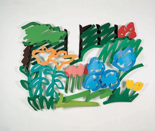"Tom Wesselmann, ""In Alice's Front Yard"", 1992"