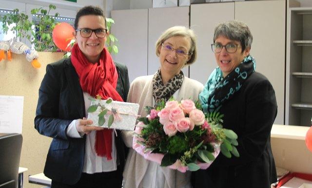 von links: Isabel Obleser, Ingrid Sigg, Heike Roll