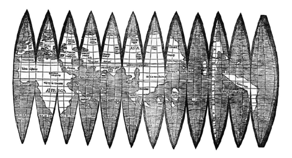 Das Offenburger Exemplar der Waldseemüller-Karte ist das älteste bekannte und liegt im Safe.