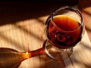 Ein Cognac ist der perfekte Abschluss für ein Menü.