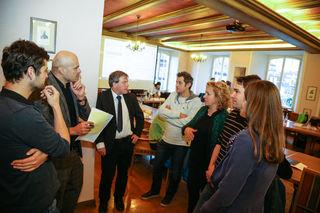 Auftaktversanstaltung zum Pilotprojekt der Landeszentrale für politische Bildung