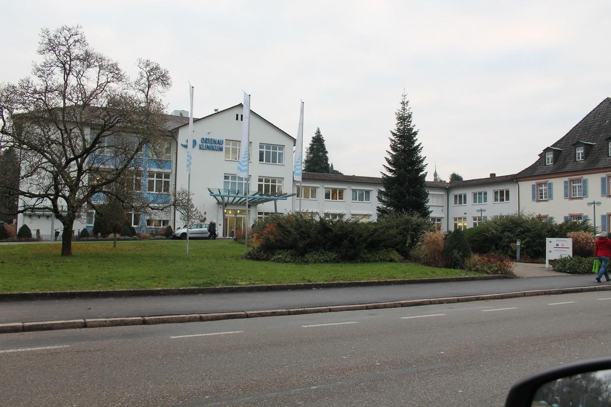Das Klinikum in Gengenbach