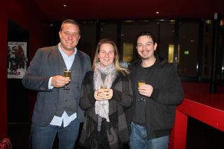 Richard Frisch, Marketing Cinema Forums, mit Renate und Manuel Freye