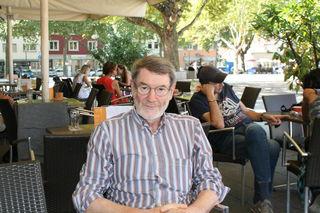 Entspannt auf dem Kehler Marktplatz: Günther Petry hörte nach 16 Jahren auf.
