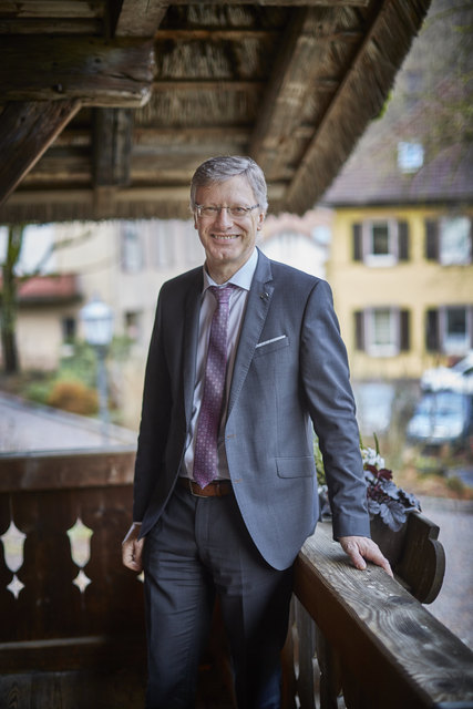 Siegfried Huber war 16 Jahre lang Bürgermeister von Oberharmersbach, verzichtete jetzt aber auf eine erneute Kandidatur. Heute endet seine Amtszeit offiziell.