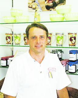 Heinz Ehrensberger, Café Conditorei Ehrensberger, Lahr
