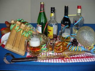 """Zu viel Alkohol kann bei der """"Fasend"""" Probleme bereiten."""