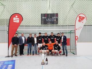 Titelverteidiger Offenburger FV: Der Verbandsligist möchte auch in diesem Jahr seinen Titel beim Sparkassencup in der Hanuerlandhalle in Willstätt verteidigen.
