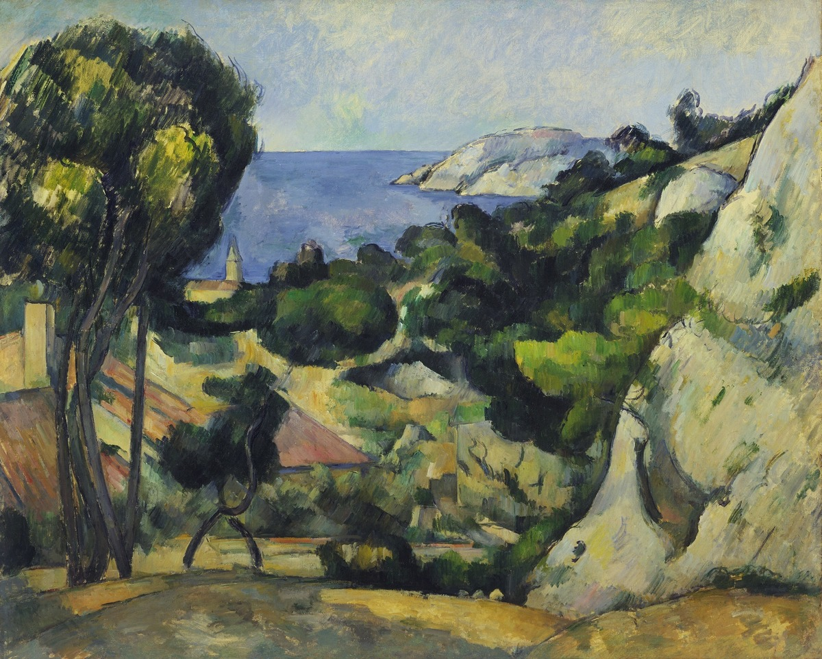 """Paul Cézanne , """"L'Estaque"""""""