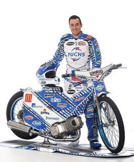 Max Dilger aus Sulz bereitet sich intensiv auf die neue Speedway- und Langbahnsaison vor.