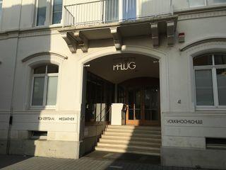 """Die Mediathek Lahr ist im """"Haus zum Pflug"""" beheimatet."""