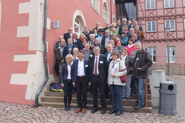 Regelmäßig finden Besuche in Ettenheim und Benfeld statt.