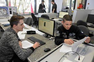 Der Schulungsraum für die SPS-Fachkräfte wurde mit modernster Technik ausgestattet. Die Gewerbe-Akademie hat hierfür rund 120.000 Euro ausgegeben.