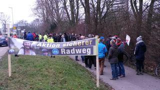 Groß war das Interesse an der Informationsveranstaltung der Bürgerinitiative Umweltschutz Kehl zur geplanten Querung des Radweges entlang der Vogesenallee.