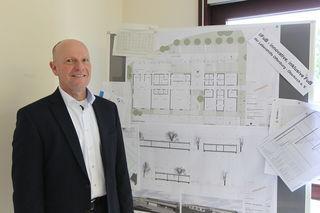 Achim Feyhl von der Lebenshilfe Offenburg-Oberkirch plant einen Neubau für ein innovatives Konzept, der Ende 2019 oder Anfang 2020 fertiggestellt sein soll.