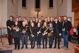 Beim Adventskonzert im vergangenen Dezember war Edmund Köchlin (erste Reihe, zweiter von links) mit dabei.