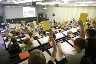 Die Hochschule für Kinder findet am 16. Februar statt.