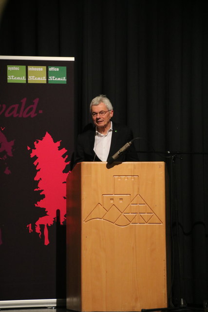 Geschäftsführer Rudolf Bischler