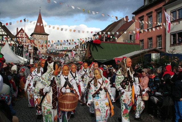 Großer Fasnachtsumzug in Gengenbach.