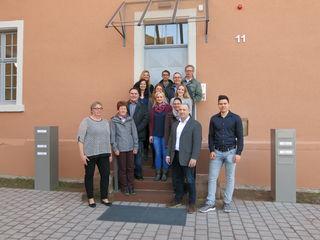 Die Mitarbeiter freuen sich über ihr neues Domizil im Südostflügel der Illenau.