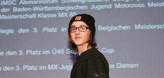 Joe-Louis Kaltenmeier wurde vom ADAC Südbaden geehrt.