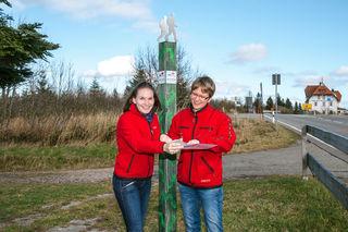 Susann Schäfer (links) und Fachbereichsleiterin Britta Böhr koordinieren den großen Plan für den Nationalpark.