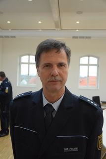 Manfred Hund ist neuer Leiter des Polizeipostens Appenweier.