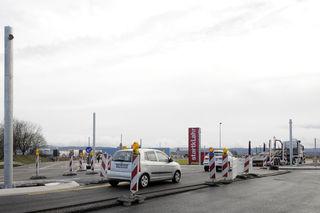 Die insgesamt sechs Spuren der B415 Richtung Lahr und Gewerbepark ssollen je nach Wetter vor Ostern und damit auch vor dem Auftakt der Landesgartenschau am 12. April beendet sein.