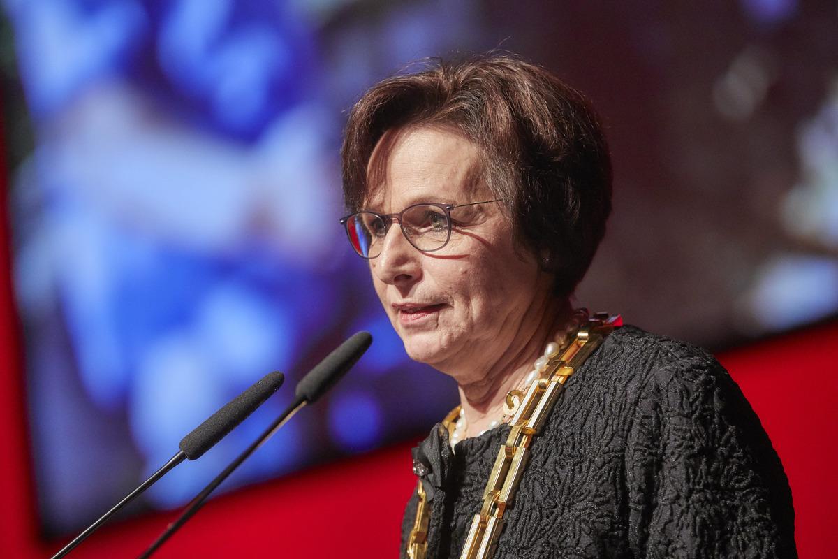 Edith Schreiners Amtszeit als Oberbürgermeisterin begann im Dezember 2002 und endet 16 Jahre später.