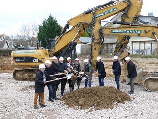 Der Anfang ist gemacht: In Bohlsbach entsteht bis Mitte nächsten Jahres ein neues Seniorenzentrum.