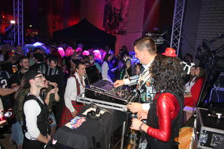 DJ Frank Dickerhof und Nicole Storzer