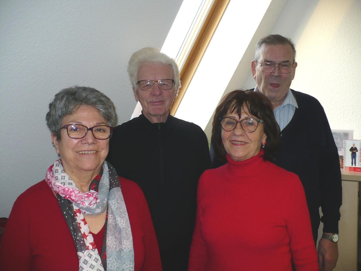 Beraten ehrenamtlich nicht nur in Wohnfragen: Manuela Benz, Peter Schäfer, Christel Schäfer-Fuchs, Christoph Schmidt (v. li.)