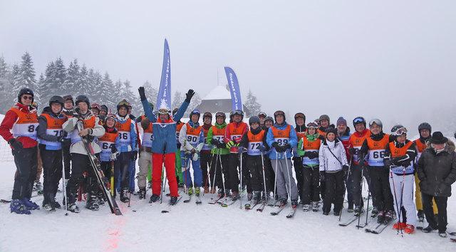 Startklar für das Rennen: Die Teilnehmer des 7. Ortenauer Polit-Skis freuen sich auf die bestens präparierten Pisten.