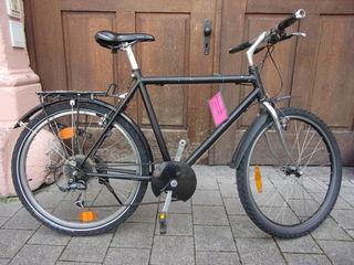 Wem gehört dies Fahrrad?