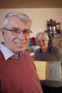 Karl und Hanna Britz freuen sich über eine Auszeichung, die für sie mehr bedeutet als nur gute Geschichtsforschung.