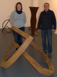 Arbeiten des Künstlerehepaars Sonja Edle von Hoeßle und Herbert Mehler sind ab heute zu sehen.