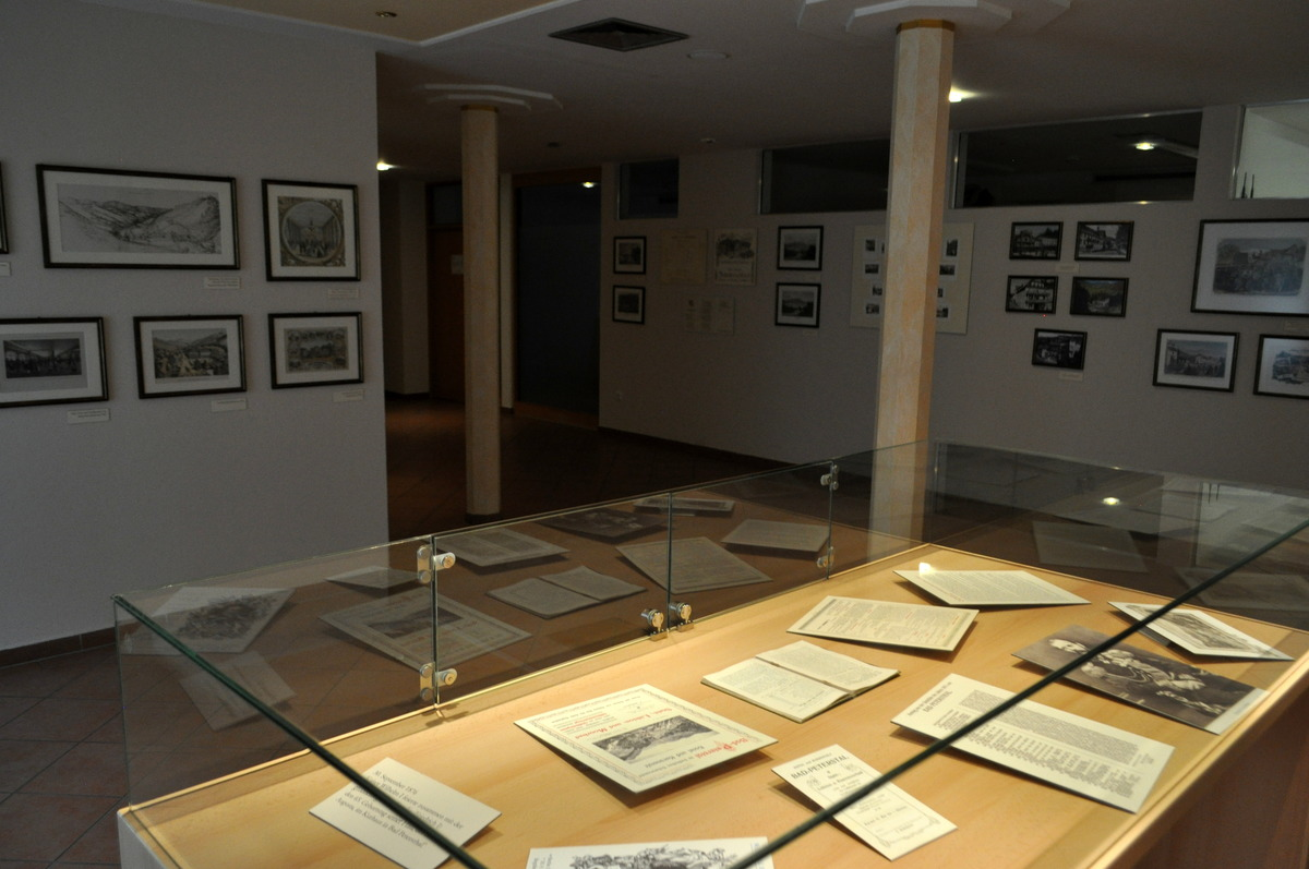 Blick in das Museum